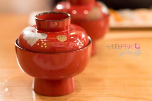 HautePinkPretty Matsuhisa Nobu Valentine's Day Omakase 6
