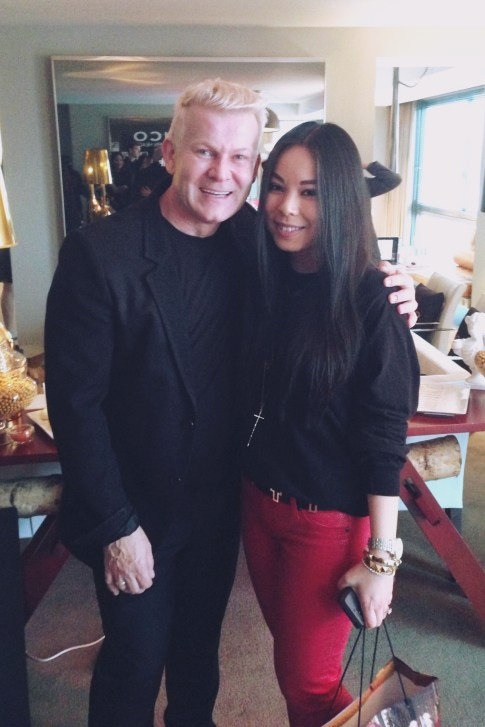 Joico's TURNHEADS Event at the SLS Hotel - An Dyer HautePinkPretty with Joico's International Art Director Damien Carney