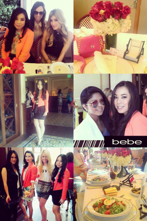 Bebe Girls Who Lunch - Instagram