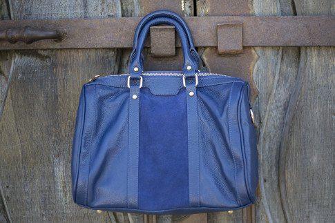 Sole Society Kaylin Handbag in Navy