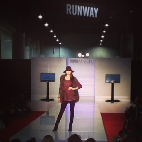 roadtoMAGIC North Hall Runway