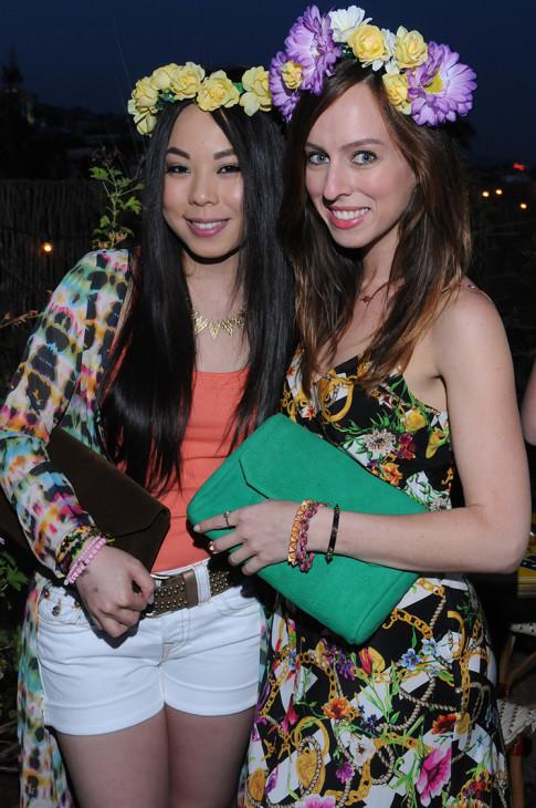 Haute Betts Pre Coachella co-hosts An Dyer and Sydne Summer