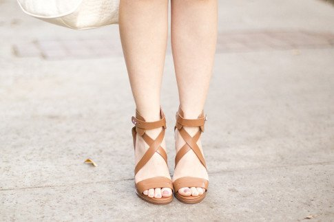 JustFab Richelle in Tan