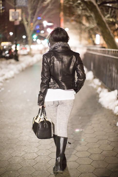NYC Street Style at Night
