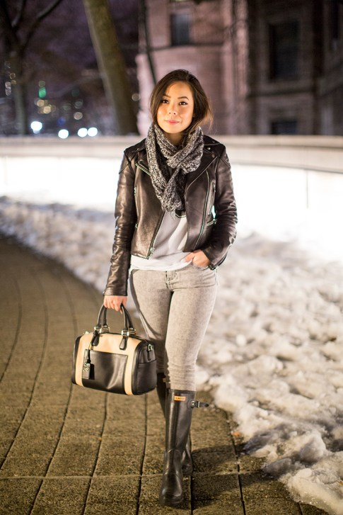 NYC Street Style at Night