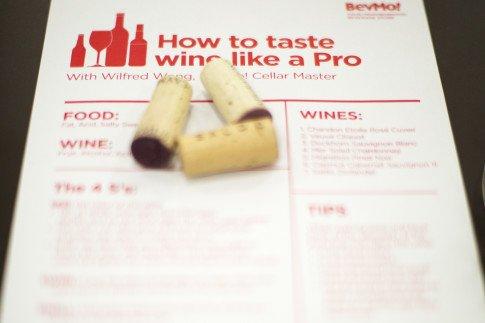 BevMoRiverside Taste Wine Like A Pro
