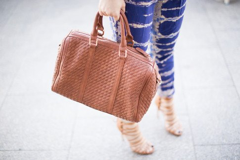 Sole Society ANYTA woven satchel, ShoeMint Marcelle
