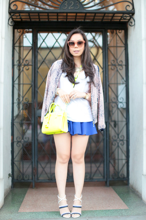 What to wear shopping in spring