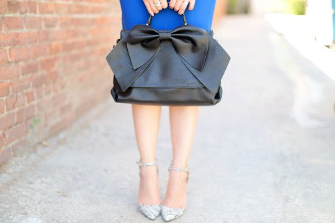 Cobalt Blue Corporate Office Dress