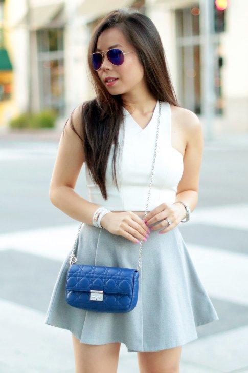 Miss Dior Pouchette Bleu De Min