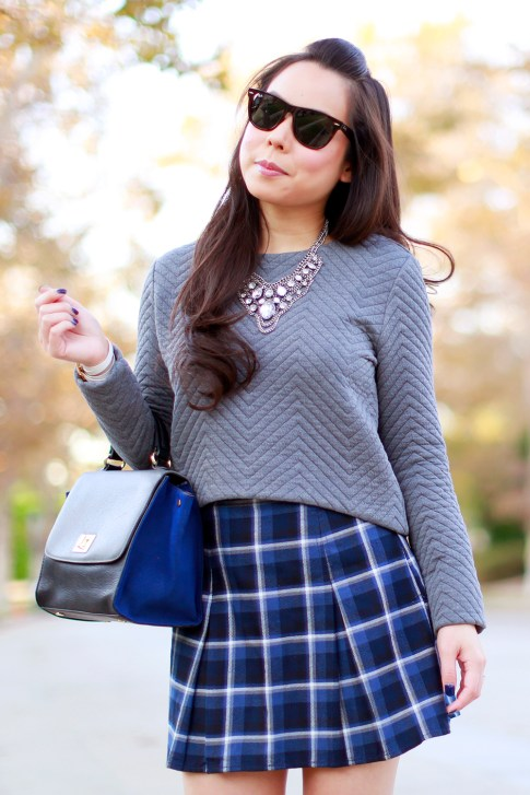 Fall Girly School Girl Style