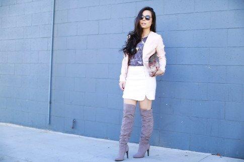 pastel fw street style