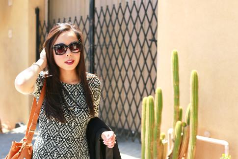 An Dyer wearing Chilli Beans Sunglasses