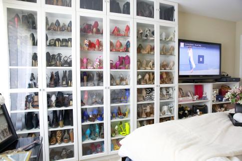 An's DIY Shoe Closet