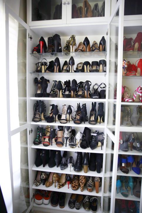 Organizing Black Shoes Shoe Closet