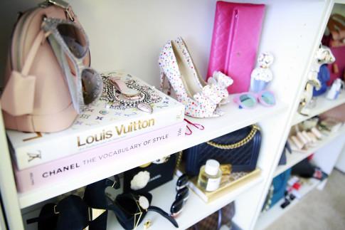 Polka Dot Bow Pumps Louis Vuitton Chanel Coffee Table Book Decor