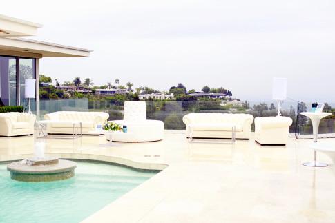 Doheny Estates Pool Dolce Gabbana PSSummerSoiree