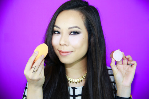 An Dyer using BECCA Under Eye Brightening Corrector