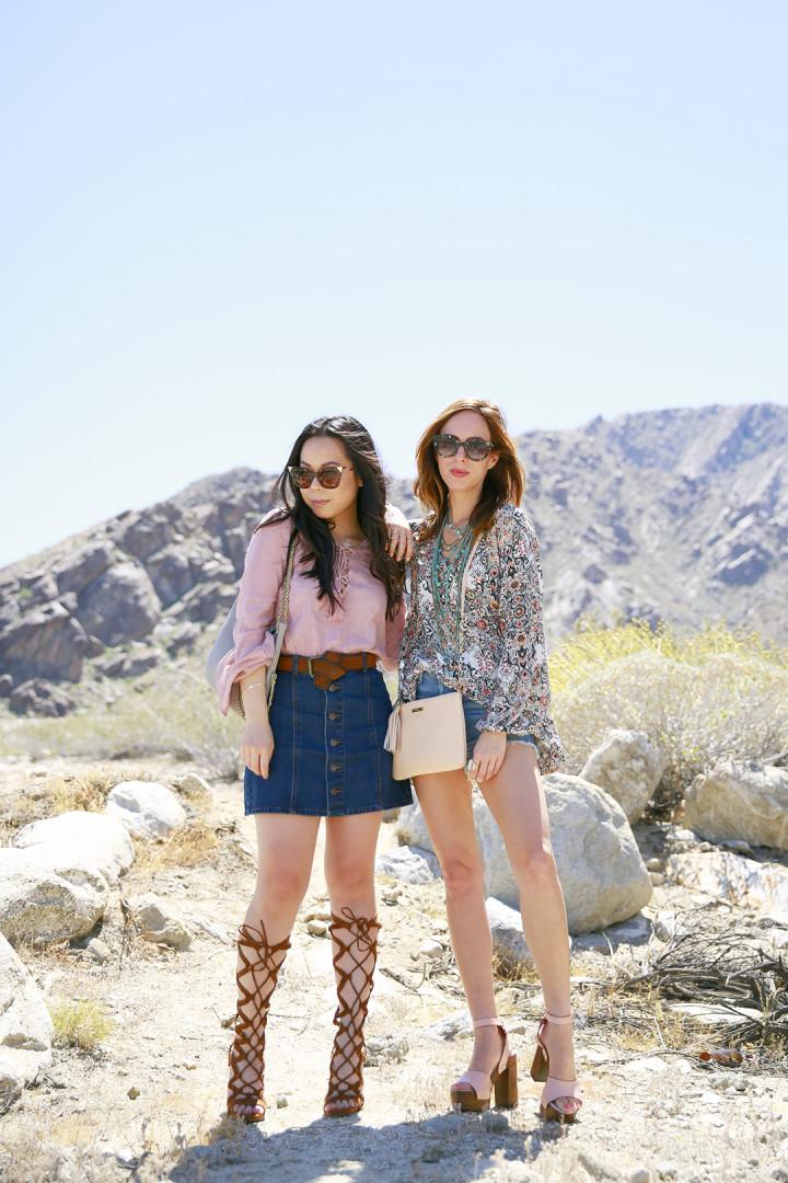 An Dyer with Sydne Summer Coachella 2016