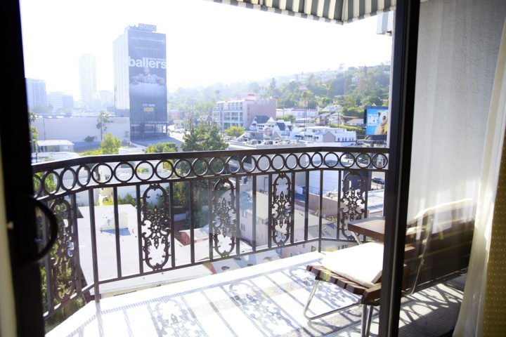 The London WeHo Beverly Hills Royal Vista Suites Balcony