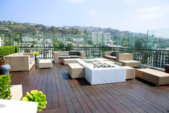 The London West Hollywood Beverly Hills Rooftop Deck