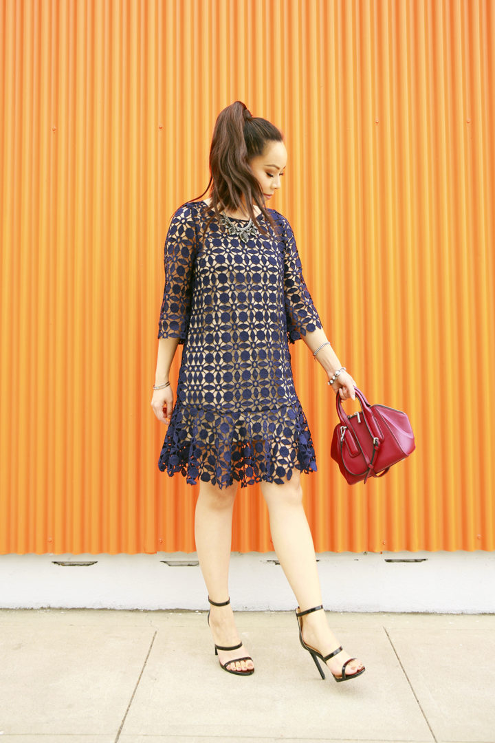 an-dyer-wearing-chicwish-navy-crochet-dress-flynn-heidi-handbag-with-guilty-soles-black-strappy-sandals
