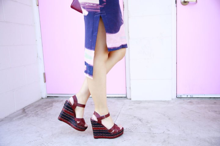 ShoeDazzle Carletta Wedge Heels