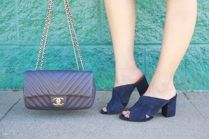 chanel-chevron-grey-lambskin-flap-bag-with-sole-society-luella-navy-suede-mules