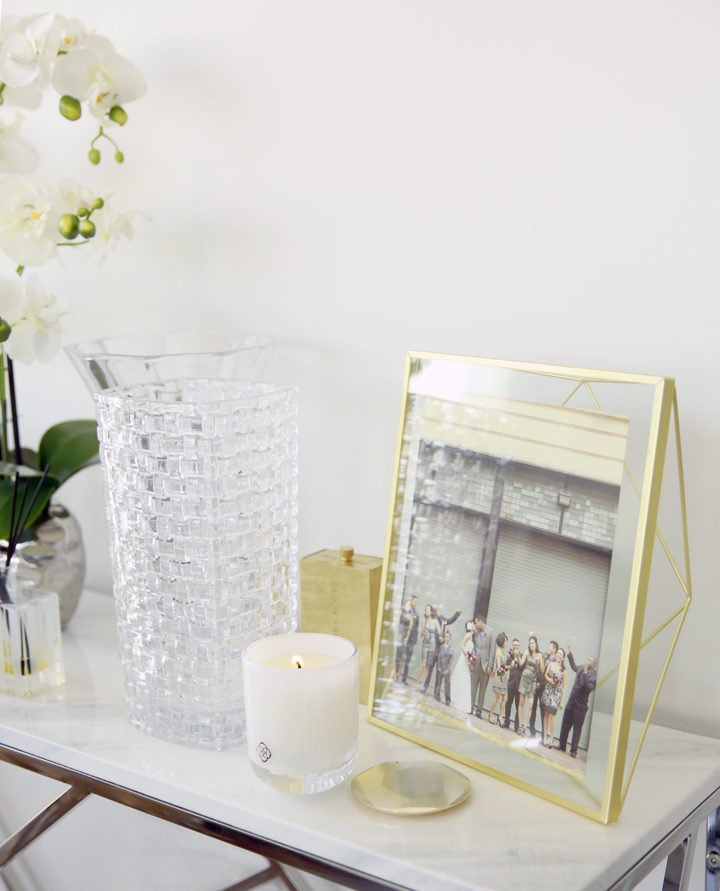 Kendra Scott Candles Home Decor Crystal Umbra Gold Frame