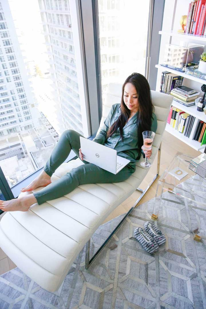 Los Angeles Blogger Apartment Library DTLA High Rise