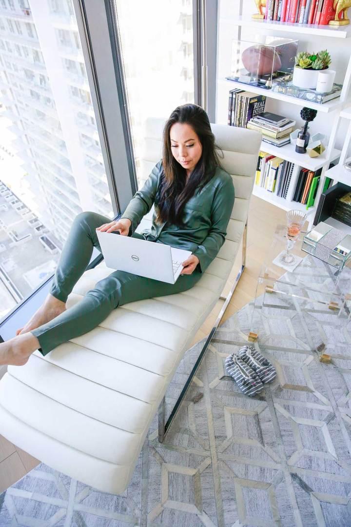 LA Fashion Lifestyle Blogger An Dyer Apartment Tour