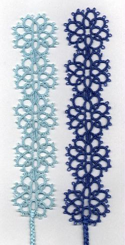 Image Copyright Floral Bookmark Tatting Pattern