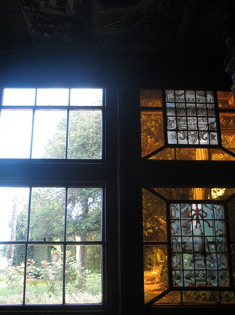 jardin vitraux