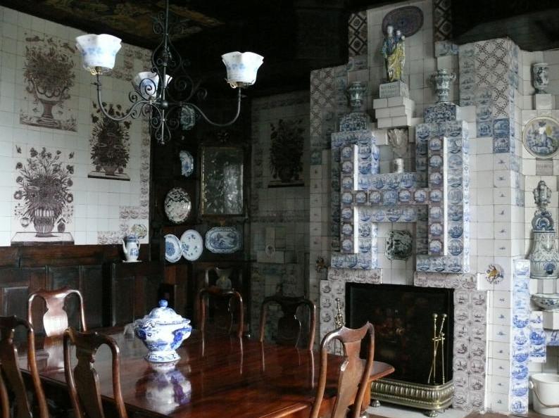 cheminée salle à manger