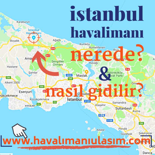 istanbul havalimanı nerede