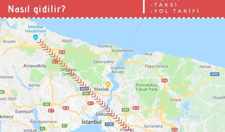 istanbul havalimanından pendik hızlı trene ulaşım