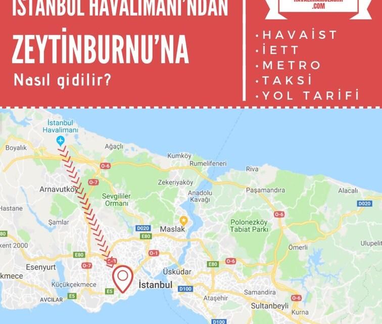 İstanbul Havalimanı'ndan Zeytinburnu'na Ulaşım Bilgileri