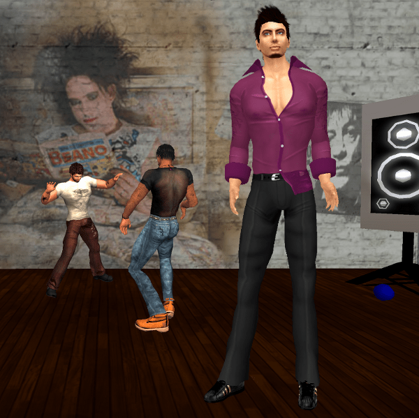 DJ Anjey Amat in his new Havana After Hours Outfit (violet shirt)