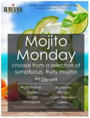 Mojito Monday Poster 27Jun16