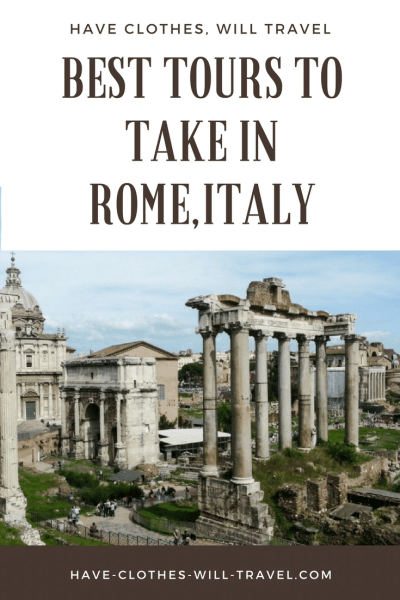 Rome Tours of the Colosseum and Roman Forum