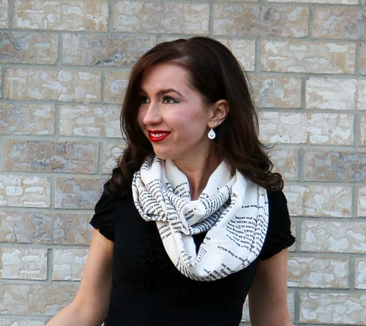 Jane Austen scarf