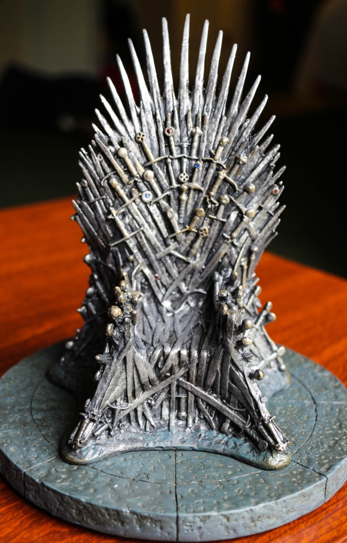 The Iron Throne!