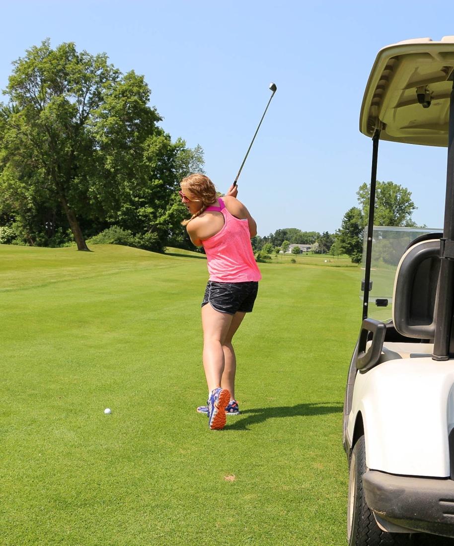 Jen's Golf Skills!