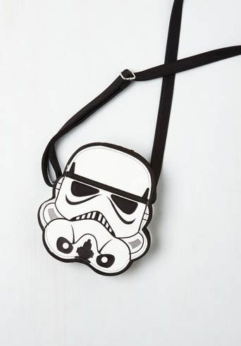 Stormtrooper purse: ModCloth