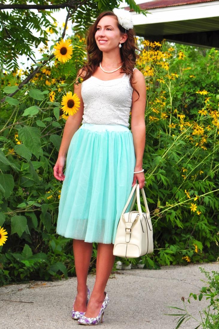 Inner Fairy Princess tulle skirt and Machi Footwear Heels