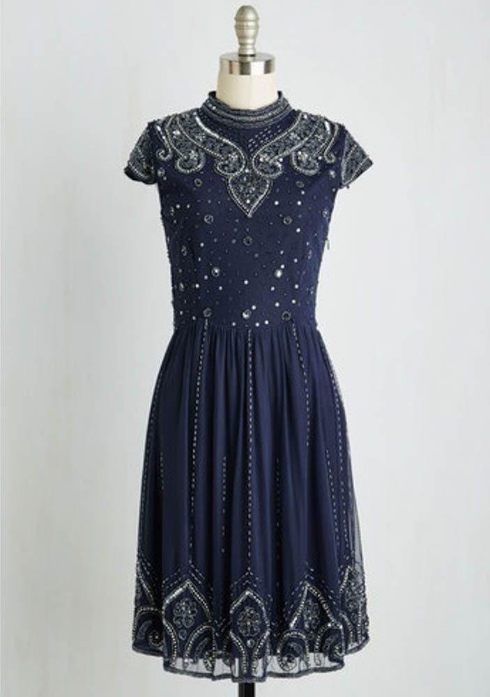 Deco-inspired dress: ModCloth