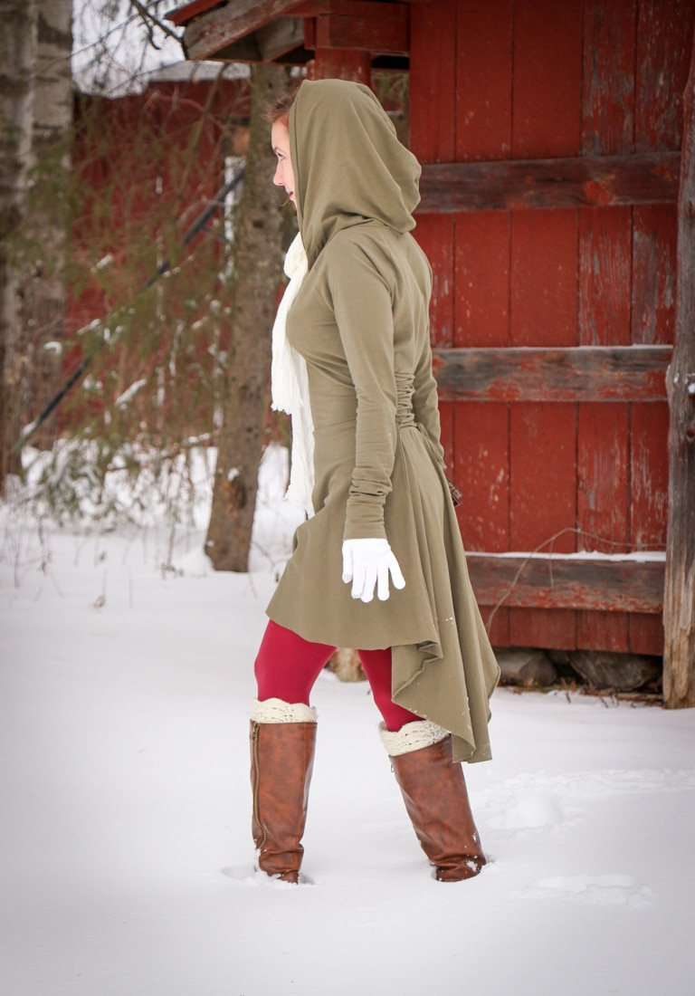 Etsy hood dress