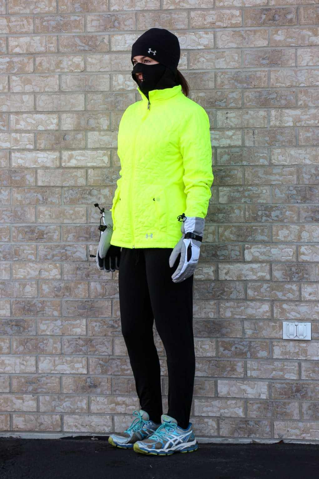subzero weather running outfit