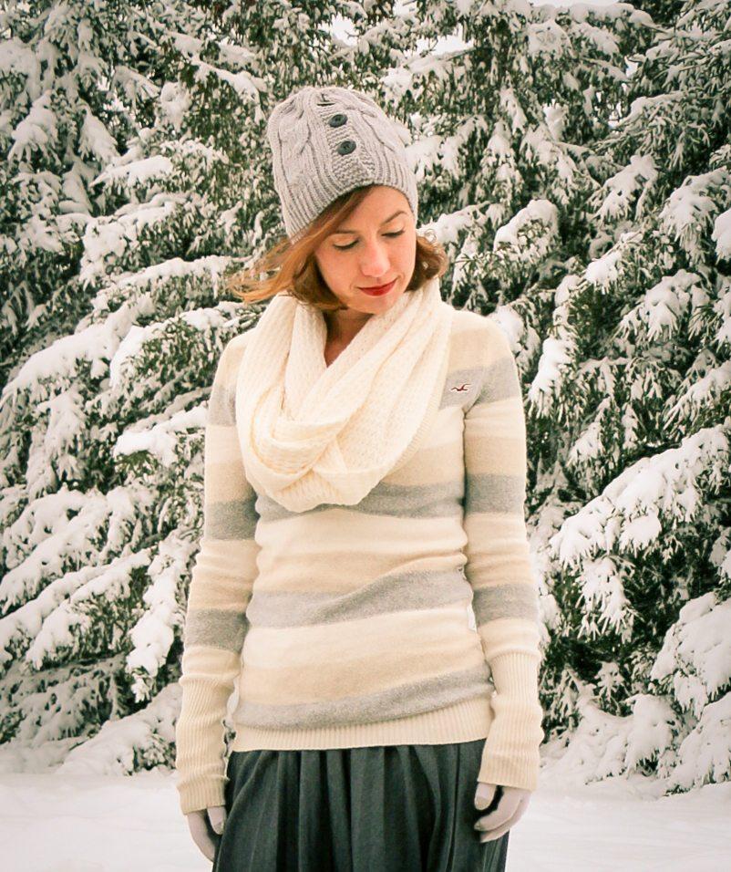 Striped Hollister sweater