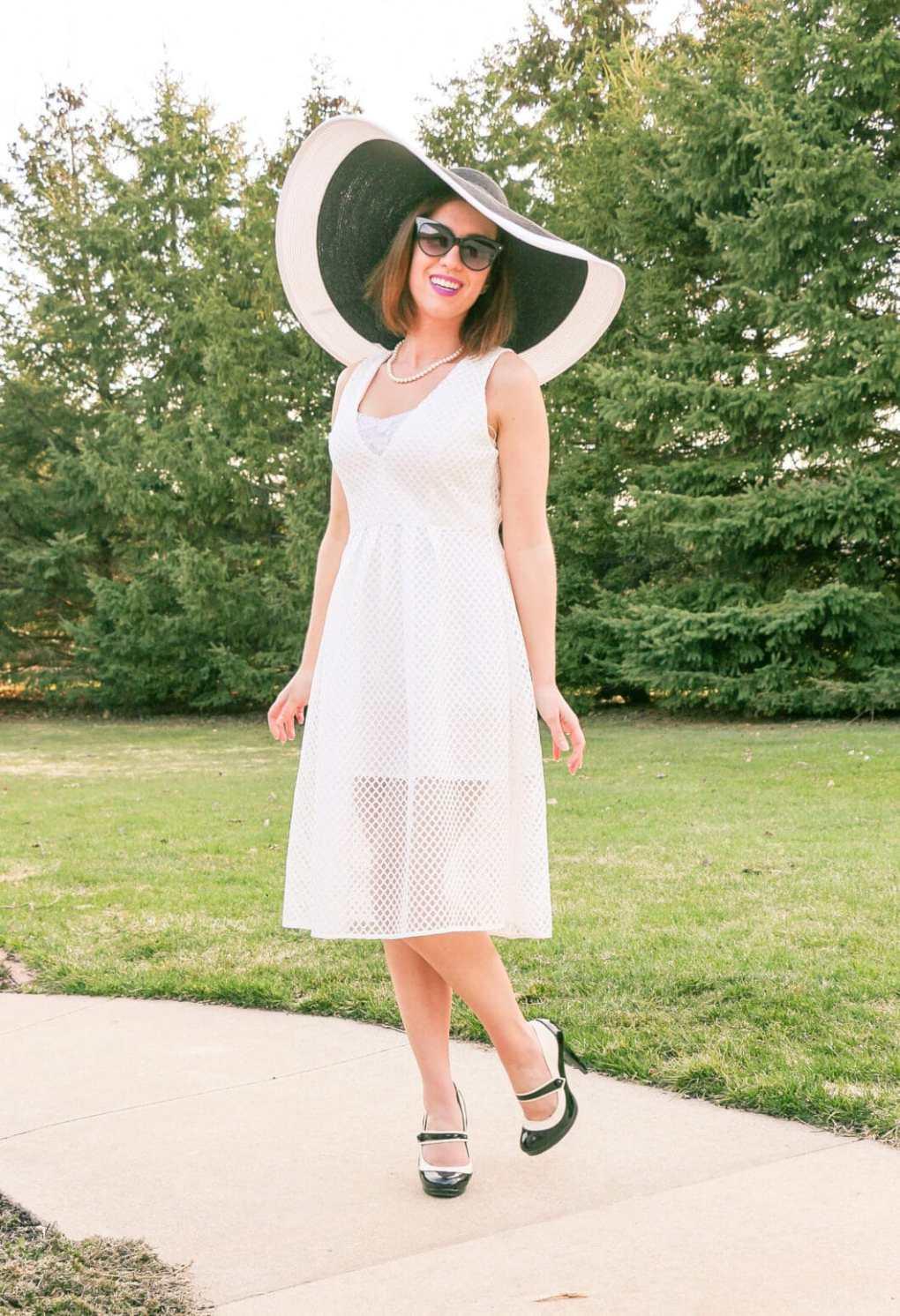 Lilee Fashion white dress